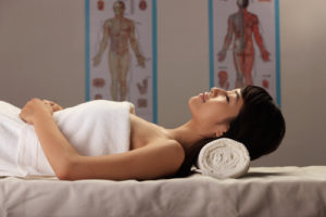 Seek relief from acupuncture for chronic pain.